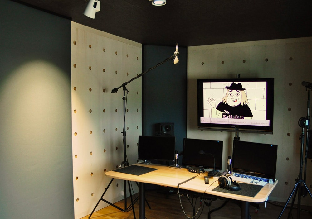 Cabine Jura: cabine d'enregistrement & montage son 5.1